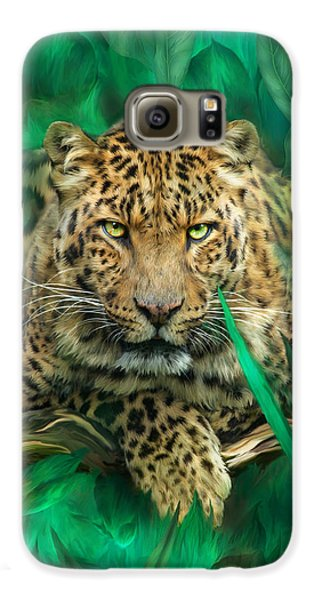 Leopard - Spirit Of Empowerment Galaxy S6 Case