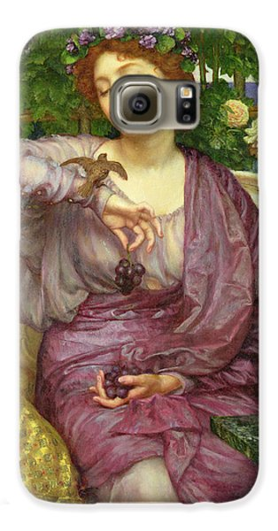 Lesbia And Her Sparrow Galaxy S6 Case by Sir Edward John Poynter