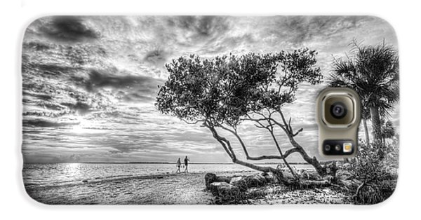 Mangrove Galaxy S6 Case - Let's Stay Here Forever Bw by Marvin Spates