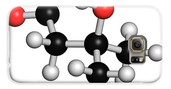 Leucine Metabolite Molecule Galaxy S6 Case by Molekuul