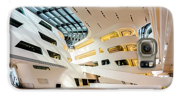 Library Interior 2  Zaha Hadid Wu Campus Vienna  Galaxy S6 Case