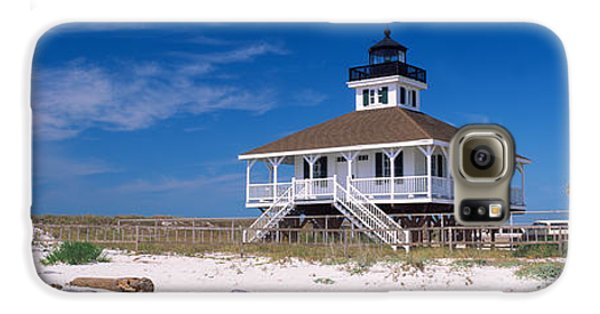 Lighthouse On The Beach, Port Boca Galaxy S6 Case by Panoramic Images