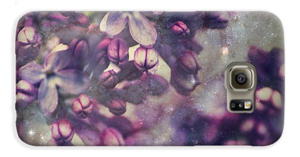 Lilac Galaxy S6 Case by Yulia Kazansky