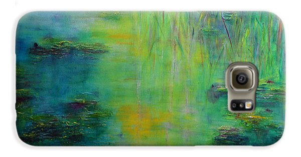 Lily Pond Tribute To Monet Galaxy S6 Case