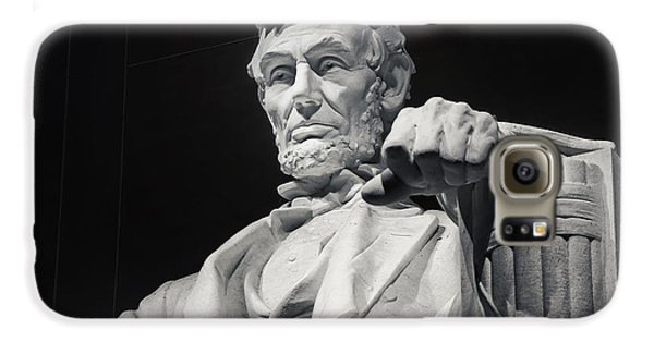 Lincoln Memorial Galaxy S6 Case - Lincoln by Joan Carroll