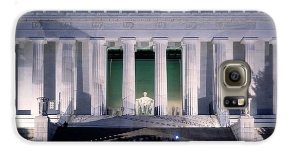 Lincoln Memorial At Dusk, Washington Galaxy S6 Case by Panoramic Images