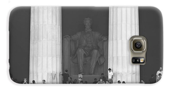 Lincoln Memorial - Washington Dc Galaxy S6 Case by Mike McGlothlen