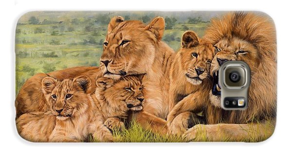 Lion Family Galaxy S6 Case