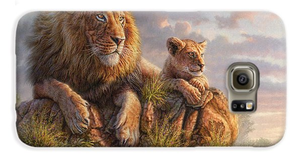 Lion Galaxy S6 Case - Lion Pride by Phil Jaeger