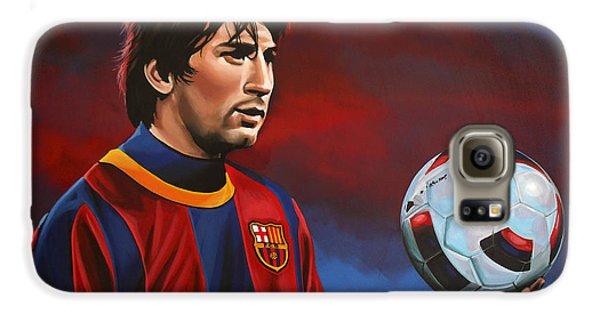 Lionel Messi  Galaxy S6 Case by Paul Meijering