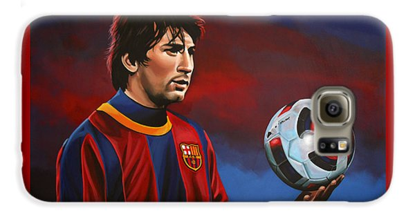 Lionel Messi 2 Galaxy S6 Case