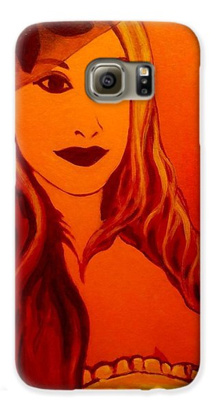 Lisa Darling II - The Irish Burlesque School Galaxy S6 Case