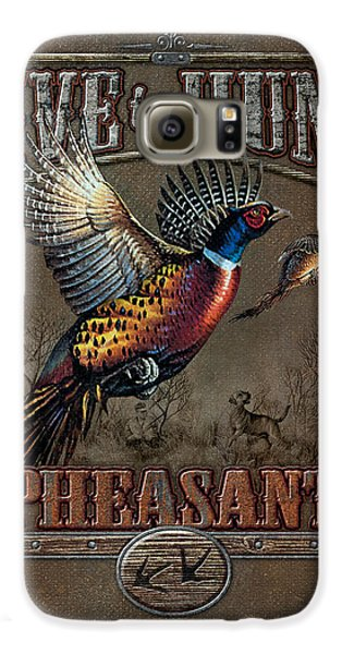 Pheasant Galaxy S6 Case - Live To Hunt Pheasants by JQ Licensing