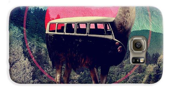 Llama Galaxy S6 Case - Llama by Ali Gulec