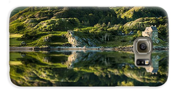 Loch Crinan Scotland And Duntrune Castle Galaxy S6 Case