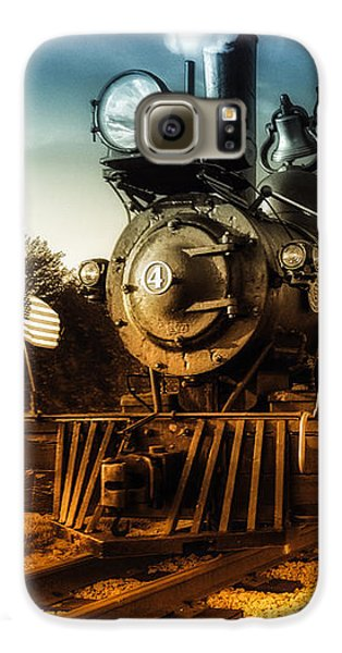 Locomotive Number 4 Galaxy S6 Case by Bob Orsillo