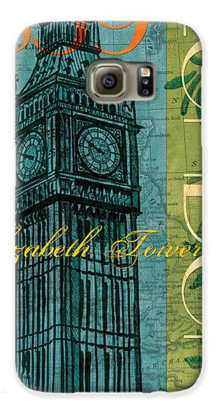 London Galaxy S6 Case - London 1859 by Debbie DeWitt