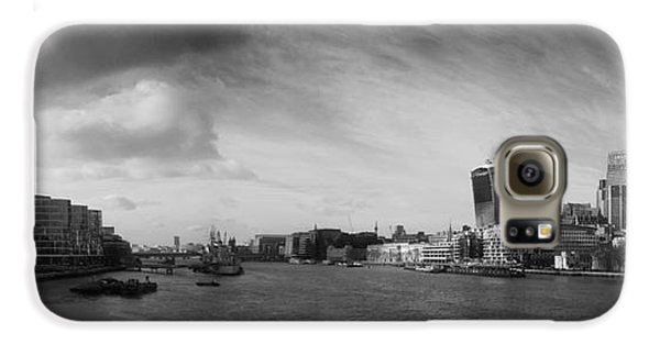 London City Panorama Galaxy S6 Case by Pixel Chimp