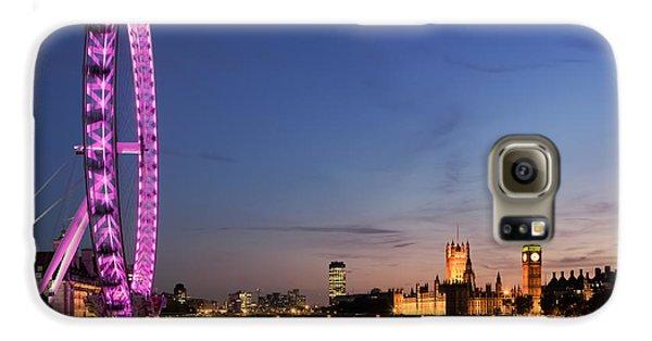 London Eye Galaxy S6 Case by Rod McLean