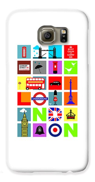 London Galaxy S6 Case by Mark Rogan
