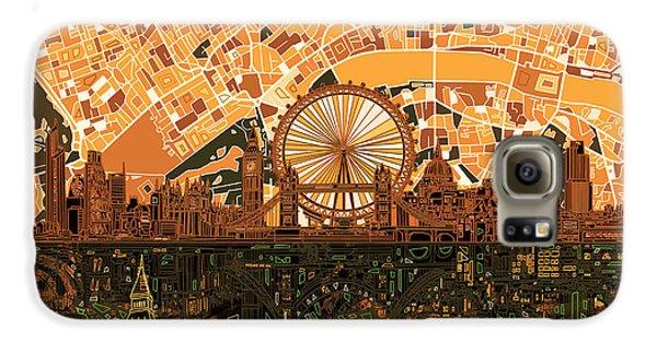 London Skyline Abstract 7 Galaxy S6 Case