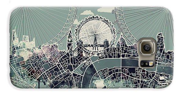 London Skyline Vintage Galaxy S6 Case
