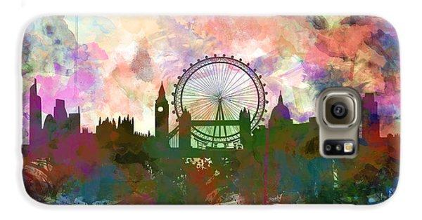 London Skyline Watercolor Galaxy S6 Case