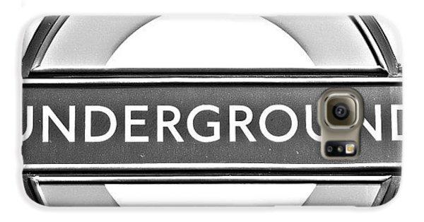 London Galaxy S6 Case - #london #tube #underground by Georgia Fowler