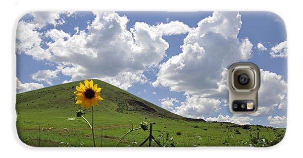 Lone Sunflower Galaxy S6 Case