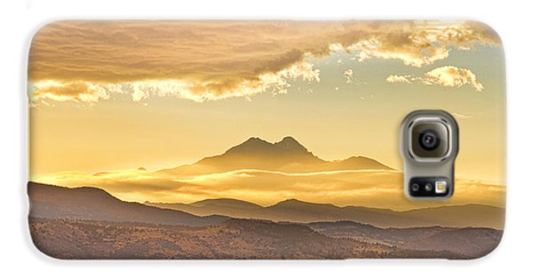 Longs Peak Autumn Sunset Galaxy S6 Case by James BO  Insogna
