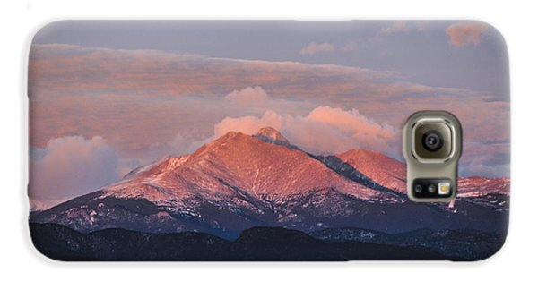 Longs Peak Sunrise Galaxy S6 Case