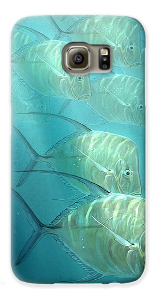 Fish Galaxy S6 Case - Lookdowns by Aaron Blaise