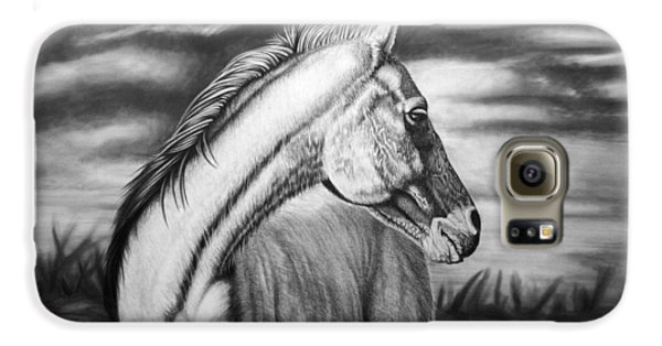 Horse Galaxy S6 Case - Looking Back by Glen Powell