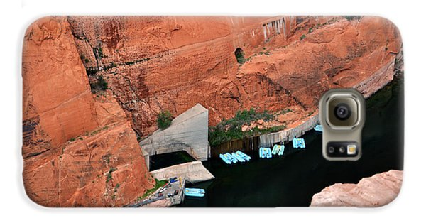 Looking Down At Glen Canyon  Galaxy S6 Case