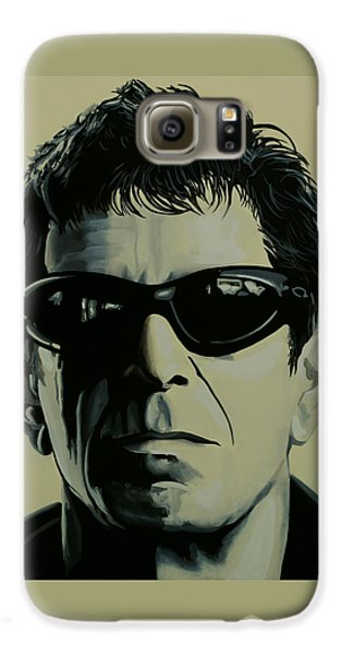 Lou Reed Painting Galaxy S6 Case by Paul Meijering