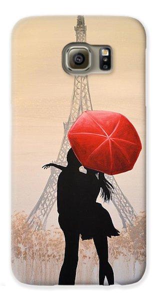 Love In Paris Galaxy S6 Case