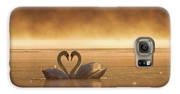 Swan Galaxy S6 Case - Lovers by Fproject - Przemyslaw