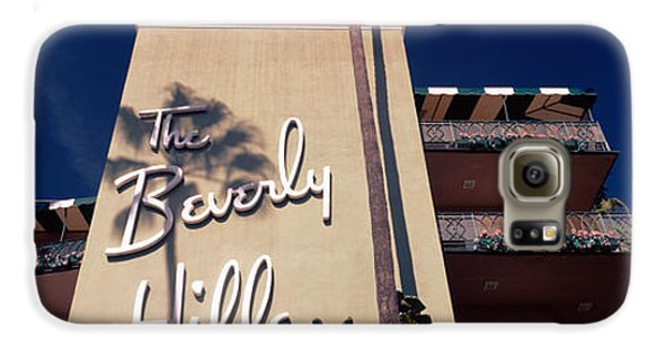 Low Angle View Of A Hotel, Beverly Galaxy S6 Case by Panoramic Images