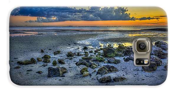 Low Tide On The Bay Galaxy S6 Case