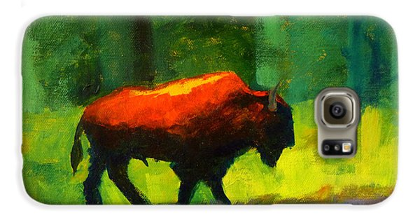 Lumbering Galaxy S6 Case by Nancy Merkle