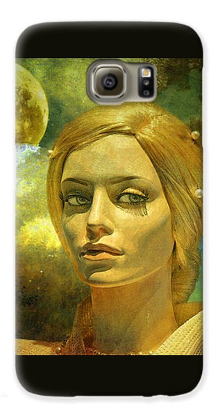 Luna In The Garden Of Evil Galaxy S6 Case by Chuck Staley