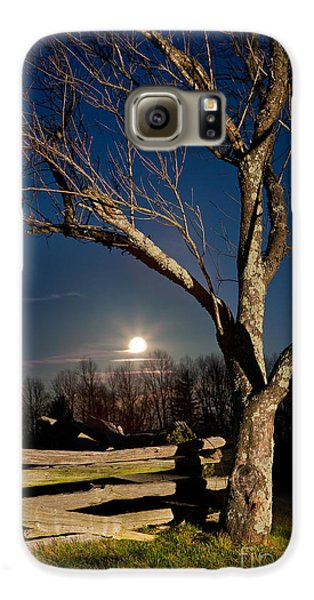 Lunar Landing - Blue Ridge Parkway Galaxy S6 Case by Dan Carmichael