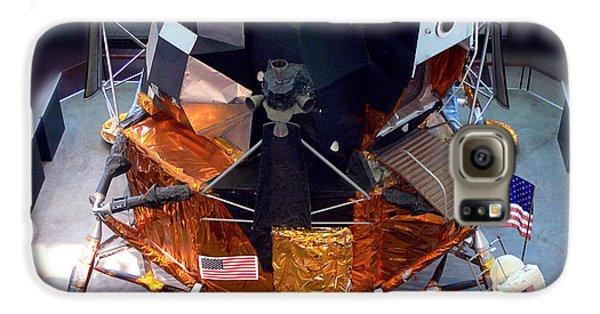 Lunar Module Galaxy S6 Case by Kevin Fortier