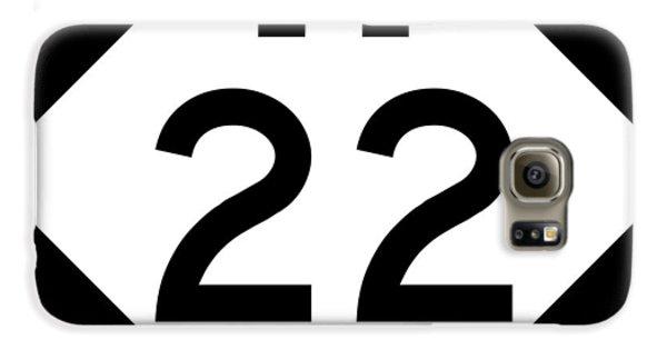 M 22 Galaxy S6 Case
