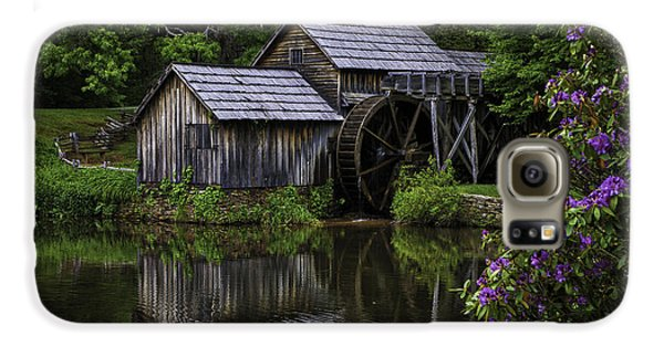 Mabry Mill In Spring Galaxy S6 Case