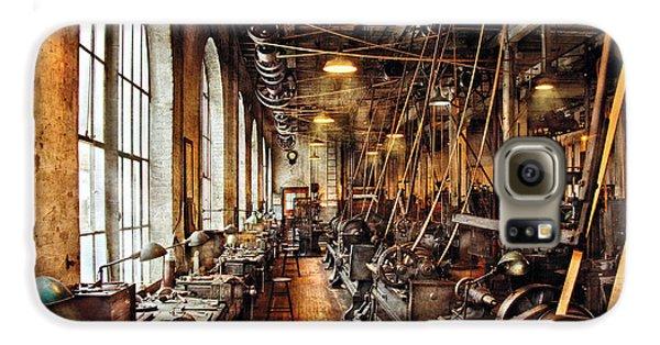 Machinist - Machine Shop Circa 1900's Galaxy S6 Case