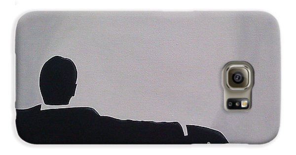 Mad Men In Silhouette Galaxy S6 Case