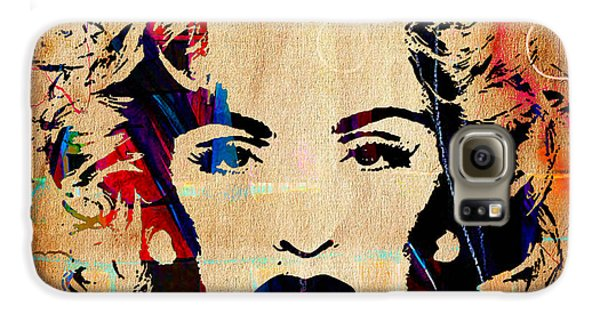 Madonna Collection Galaxy S6 Case by Marvin Blaine