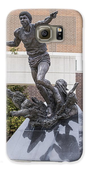 Magic Johnson Statue At Breslin  Galaxy S6 Case