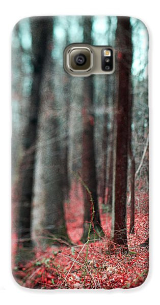 Magical Forest Galaxy S6 Case by Kim Fearheiley